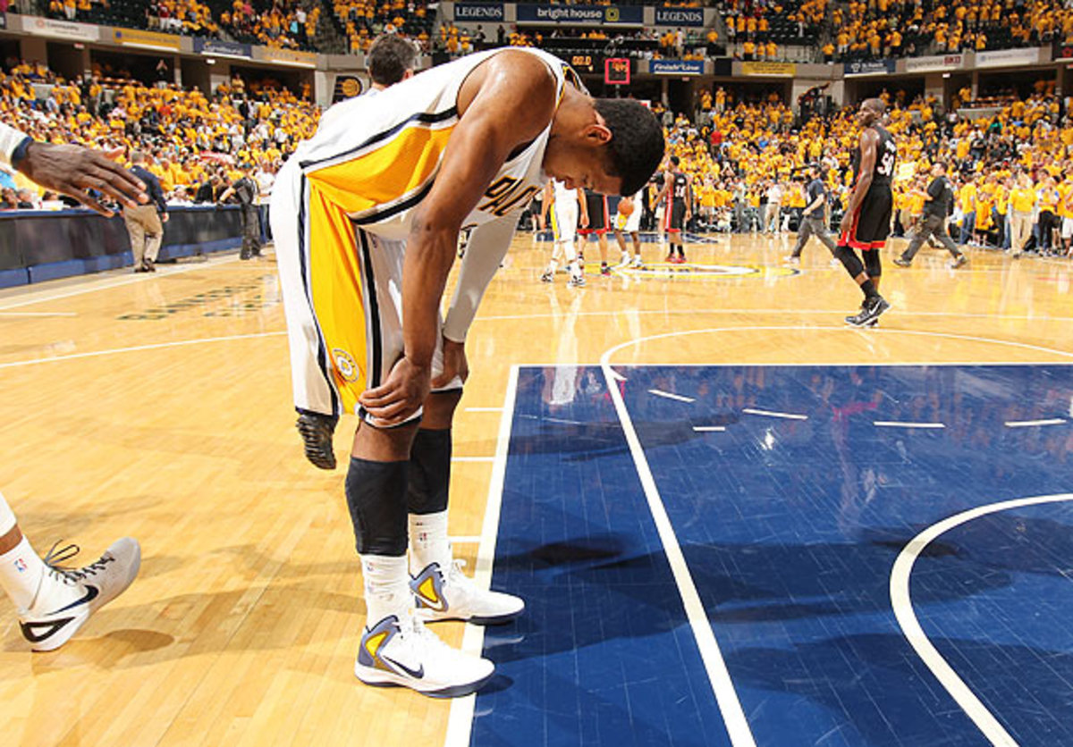 Danny Granger will miss the rest of the season for the Indiana Pacers