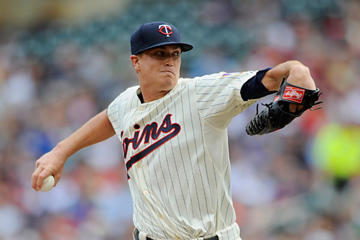 Kyle Gibson was the 22nd pick of the '09 draft and was called up by the Twins to replace Mike Pelfrey. (Hannah Foslien/Getty Images)