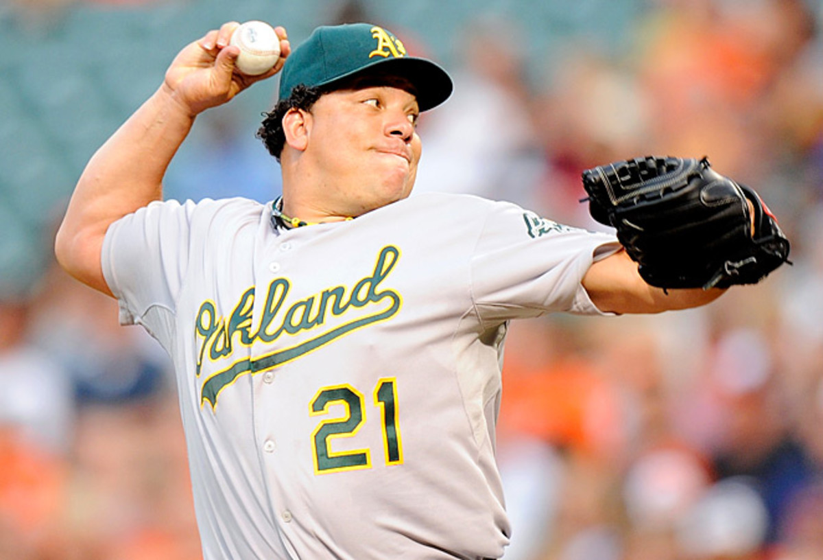 Bartolo Colon was hit with a 50-game suspension for a positive testosterone test.