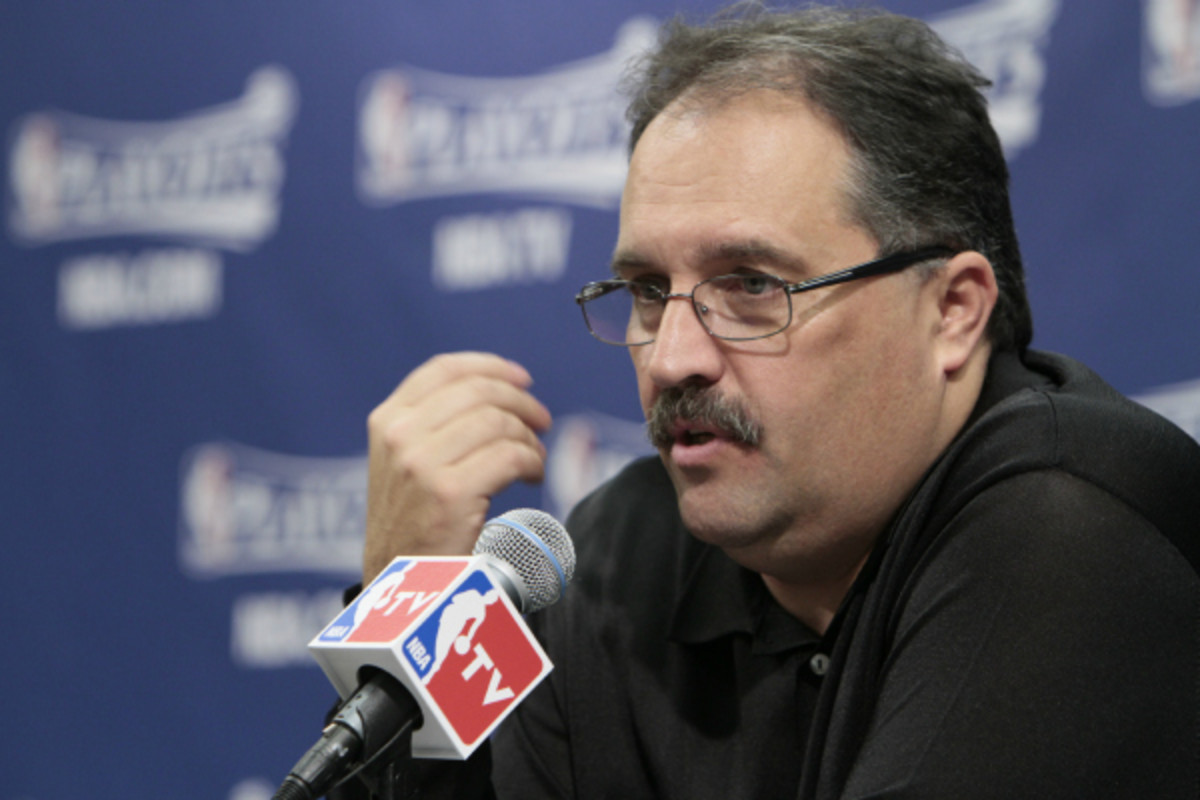 Stan Van Gundy says he will not coach in the NBA next season in the interest of his family. (Ron Hoskins/Getty Images)