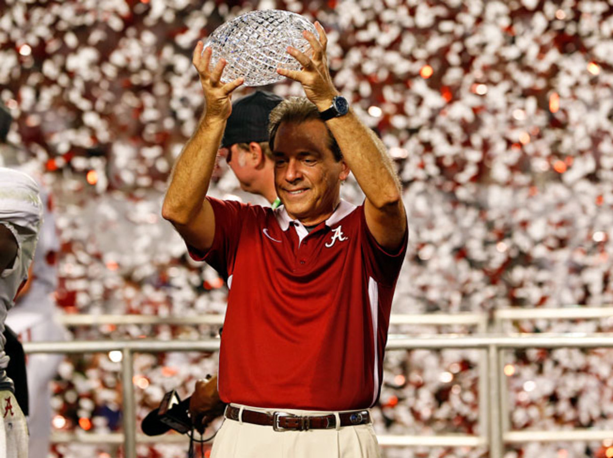 Nick Saban and Alabama have won the past two BCS titles. Can they win a third straight this season?