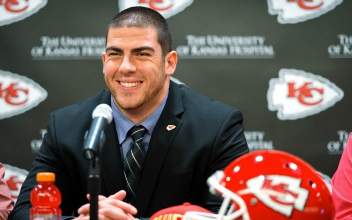 Eric Fisher and the Chiefs agreed to a four-year deal. (Kansas City Star/Getty Images)