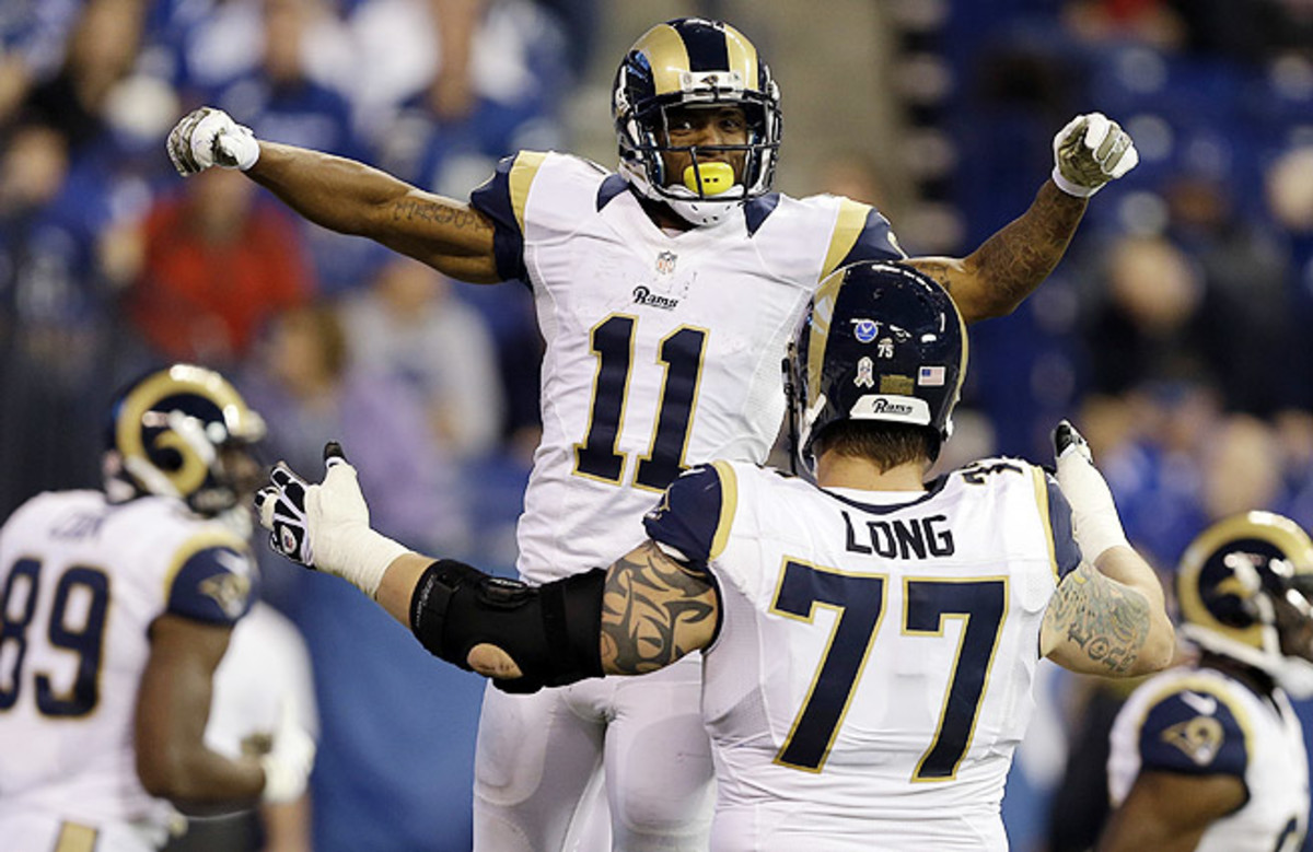 Tavon Austin played hero for the Rams, totaling three touchdowns and 314 all-purpose yards in their win over the Colts.