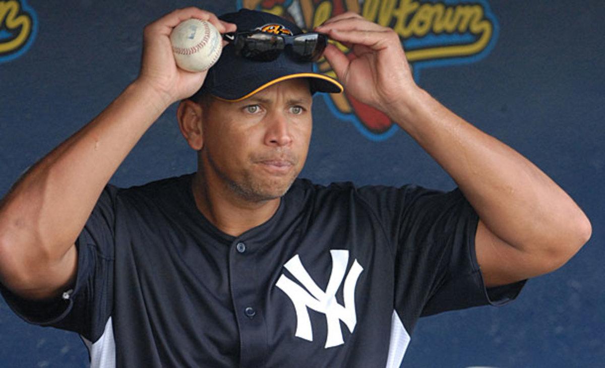 Alex Rodriguez, Yankees