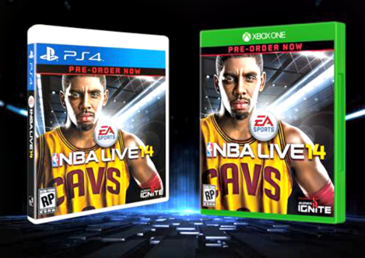 Kyrie Irving will grace the first video game cover of his career with NBA LIVE 14. (EA Sports)