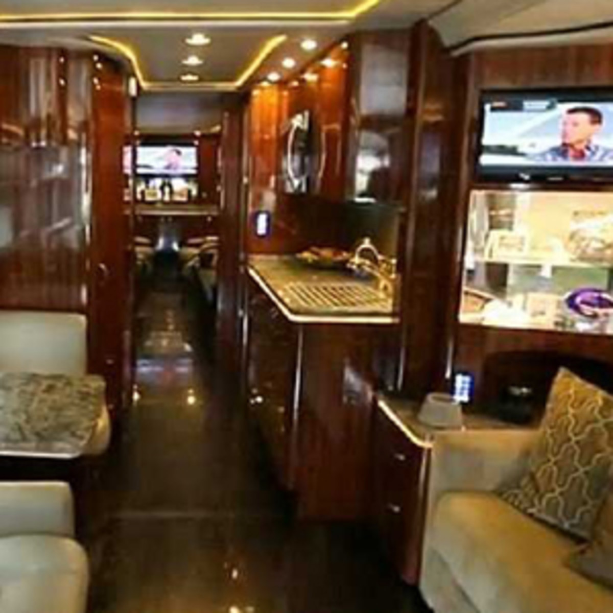 The Cowboys put more than 2 million miles on their first luxury bus.