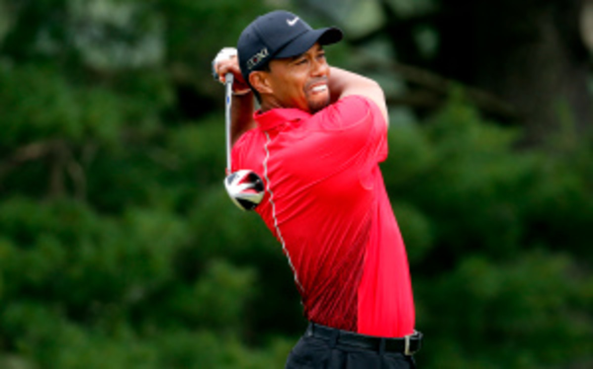 Tiger Woods announced on Wednesday that he will sit out of AT&T National. (Rob Carr/Getty Images)
