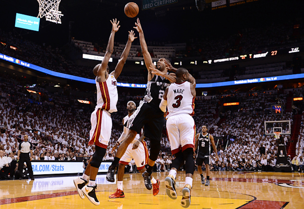 Despite 59 points and 29 boards in Games 6 and 7, Tim Duncan was unable to capture a fifth title.