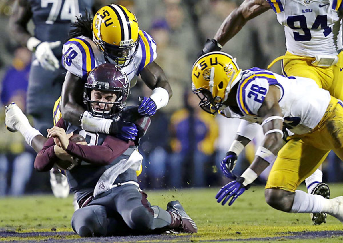 LSU bottled up Johnny Manziel and likely ended his hopes of a Heisman repeat Saturday.