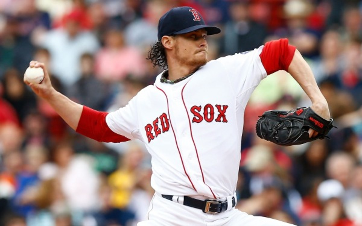 Red Sox pitcher Clay Buchholz is set to return to the team's rotation next week. (Jared Wickerham/Getty Images)