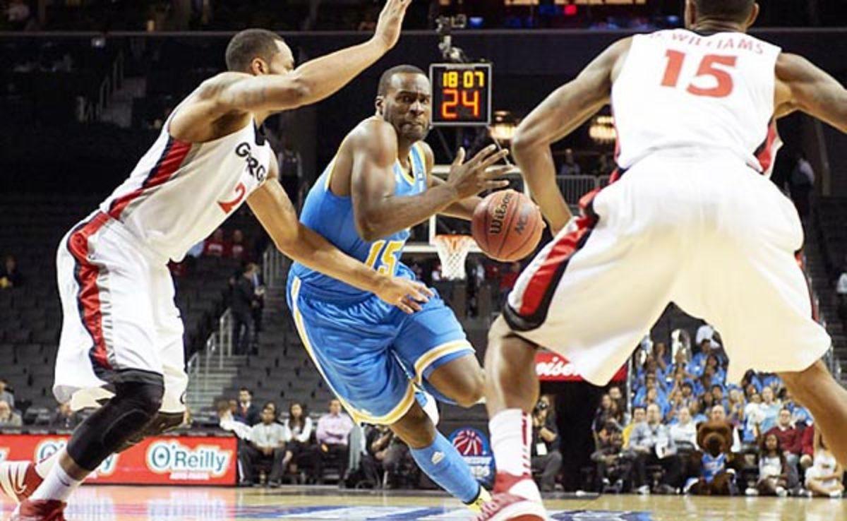 Shabazz Muhammad averaged 17.9 points at UCLA last season.