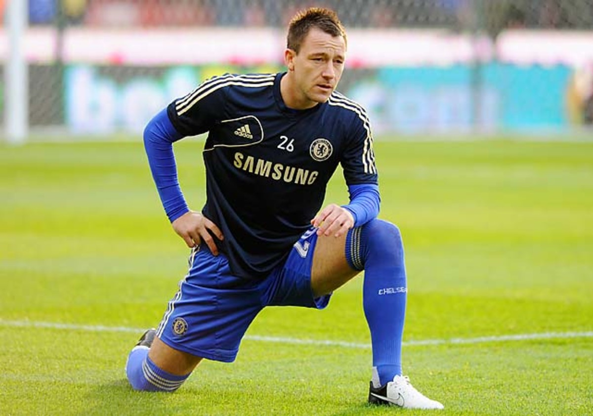 John Terry and Chelsea are in third place in the Premier League, 16 points behind leader Manchester United.