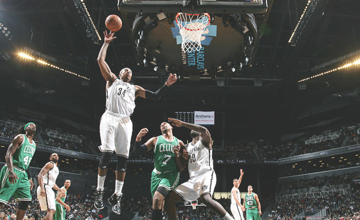 Paul Pierce played against his former Celtics for the first time last week in a home game in Brooklyn.
