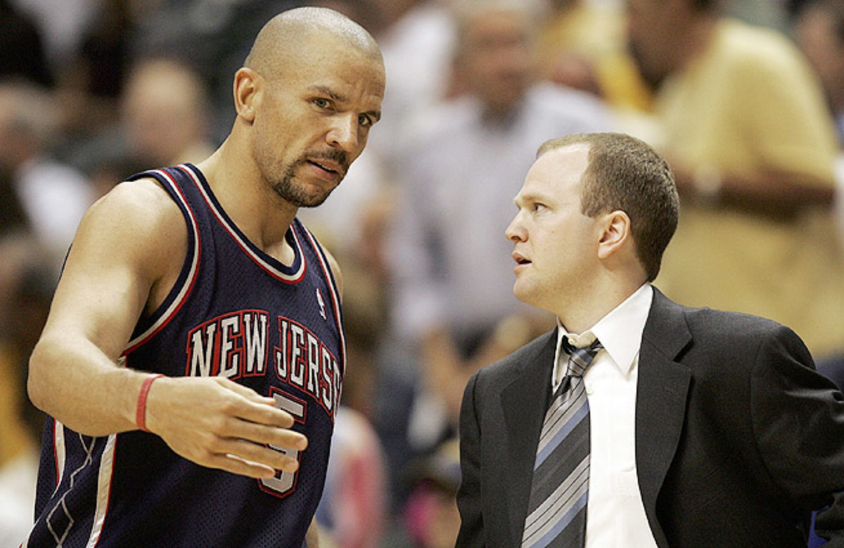 Jason Kidd played for the then-New Jersey Nets from 2001 through 2008.
