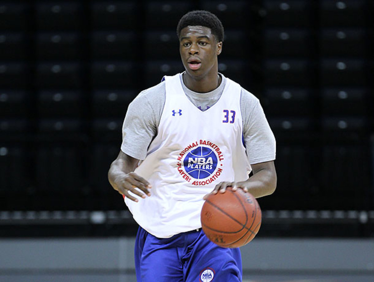 Emmanuel Mudiay had been linked to high-profile schools including Kentucky and and Kasas.