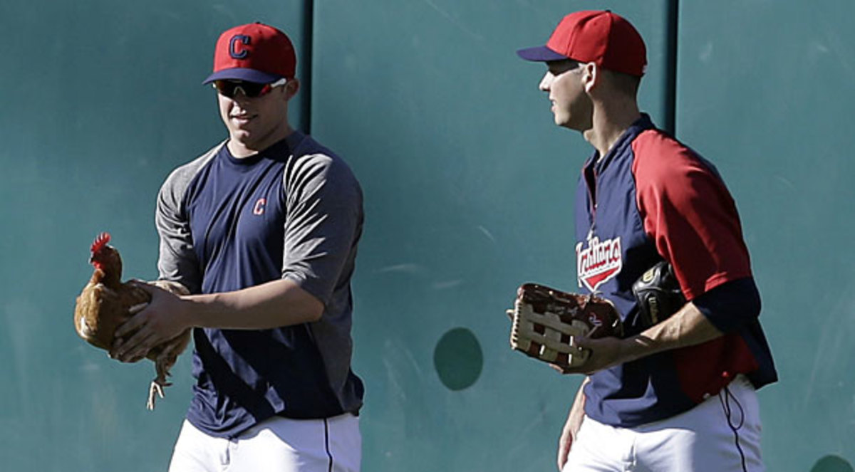 Cody Allen and Rich Hill, Indians