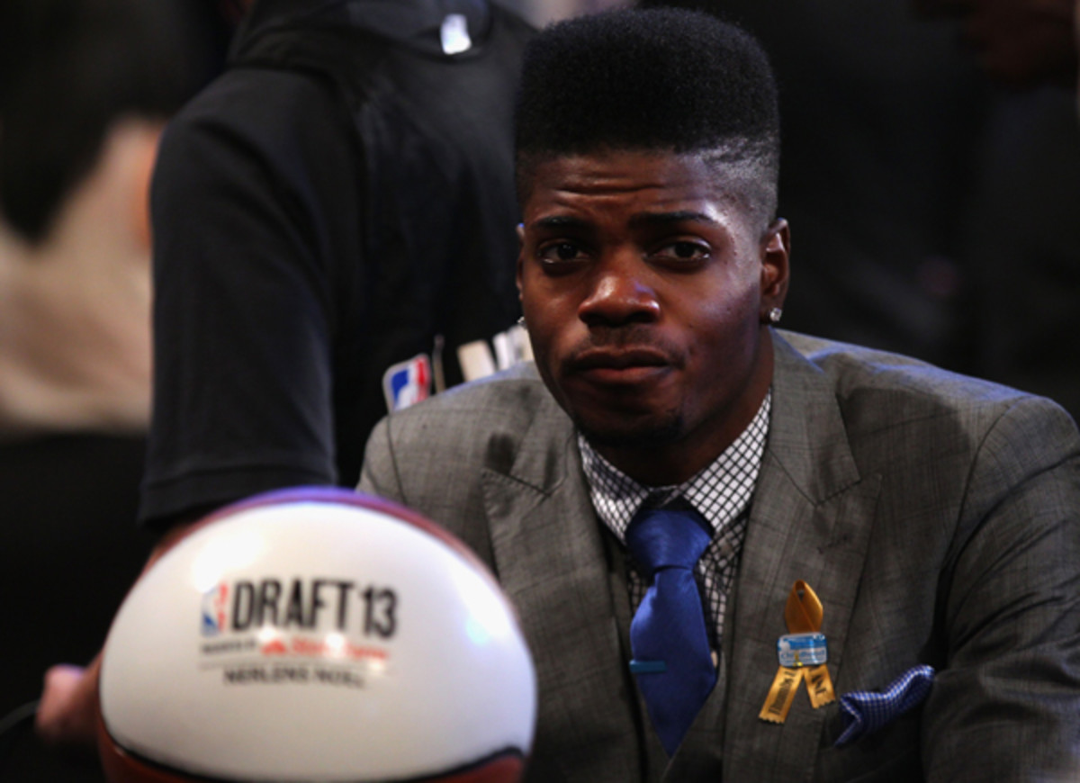 Nerlens Noel had to wait to hear his name called on draft night.