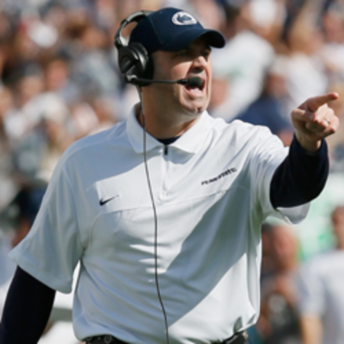 The Cleveland Browns have interviewed Penn State's Bill O'Brien for their open head coaching position.. (Rob Carr/Getty Images)