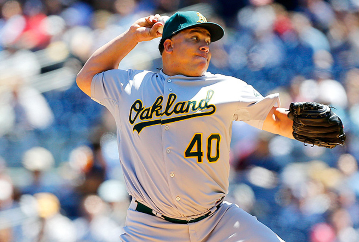 Bartolo Colon boasts a 6.6 percent HR/FB rate, and has walked only ten batters this season.
