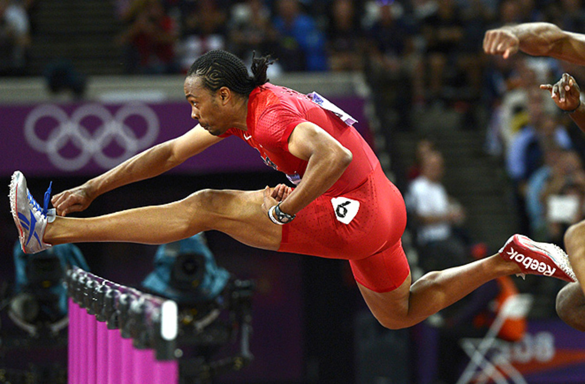 U.S. hurdler Aries Merritt won gold in the 110 meter hurdles at the London Olympics, and wants to become a household name like Usain Bolt.