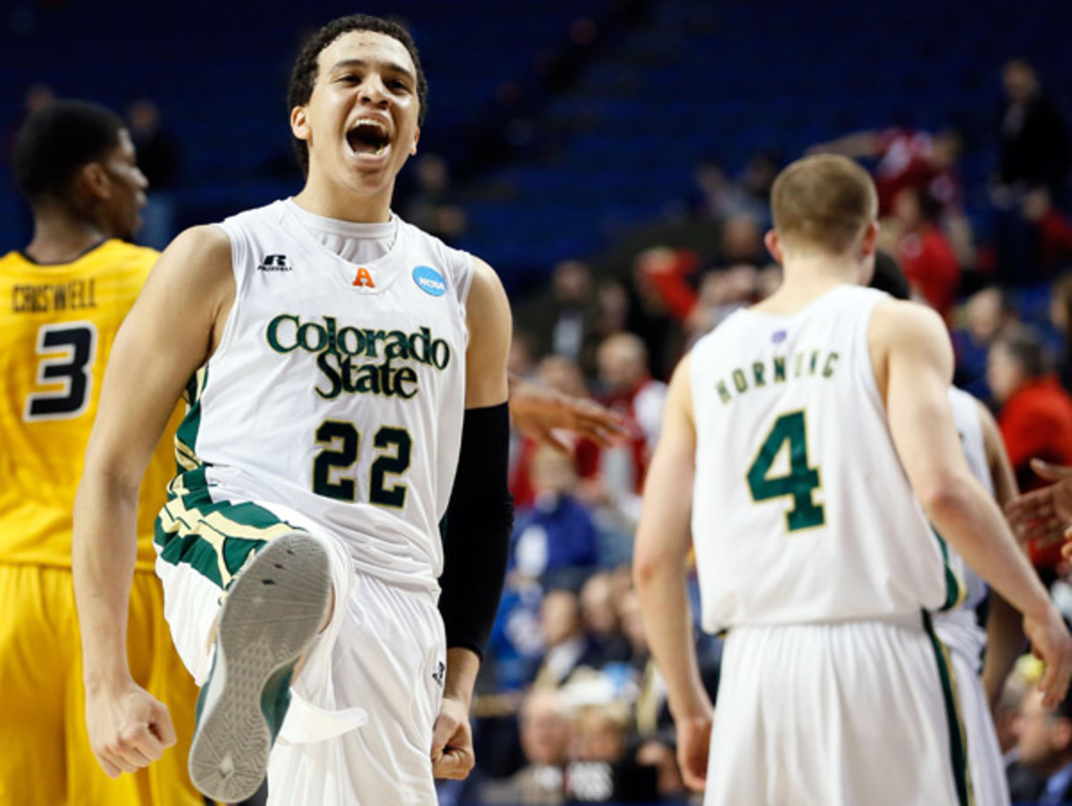 It was all smiles for Dorian Green and Colorado State in their second-round win over Missouri. (Kevin C. Cox/Getty Images)