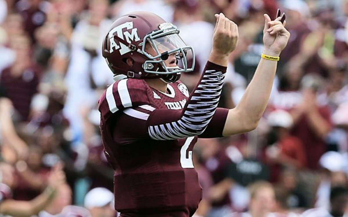 Joe Flacco called Johnny Manziel his favorite college football player. (Scott Halleran/Getty Images)