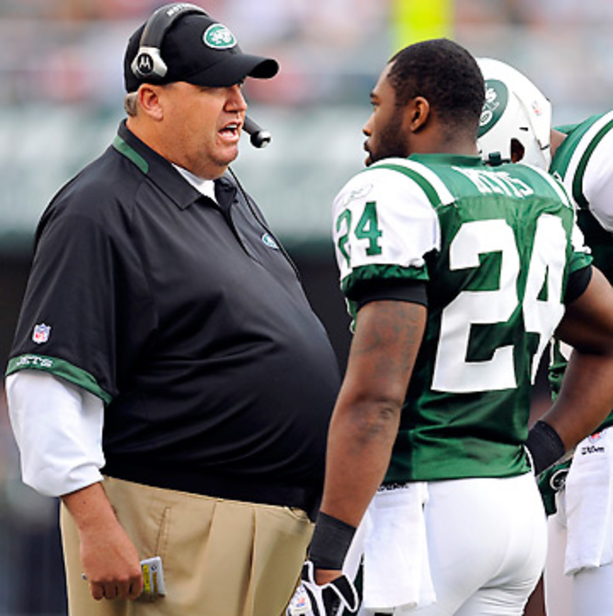 Rex Ryan thinks he knows the keys to getting off Revis Island alive. (Rich Kane/Icon SMI)