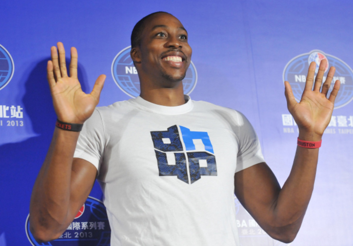 Dwight Howard's reputation has gotten the better of him in recent years. (Mandy Cheng/AFP/Getty Images)