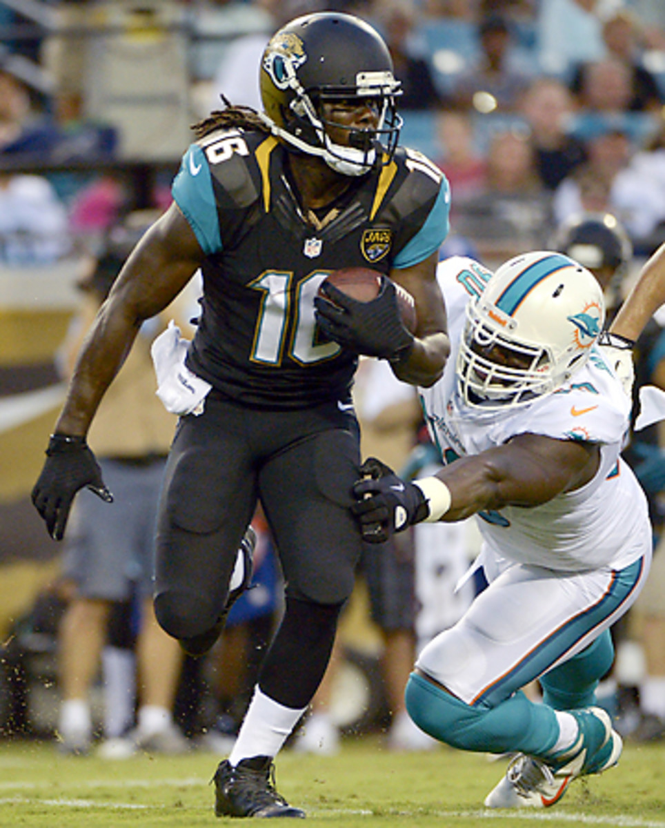 No matter where he lines up, Denard Robinson will make an impact on the Jaguars' offense.