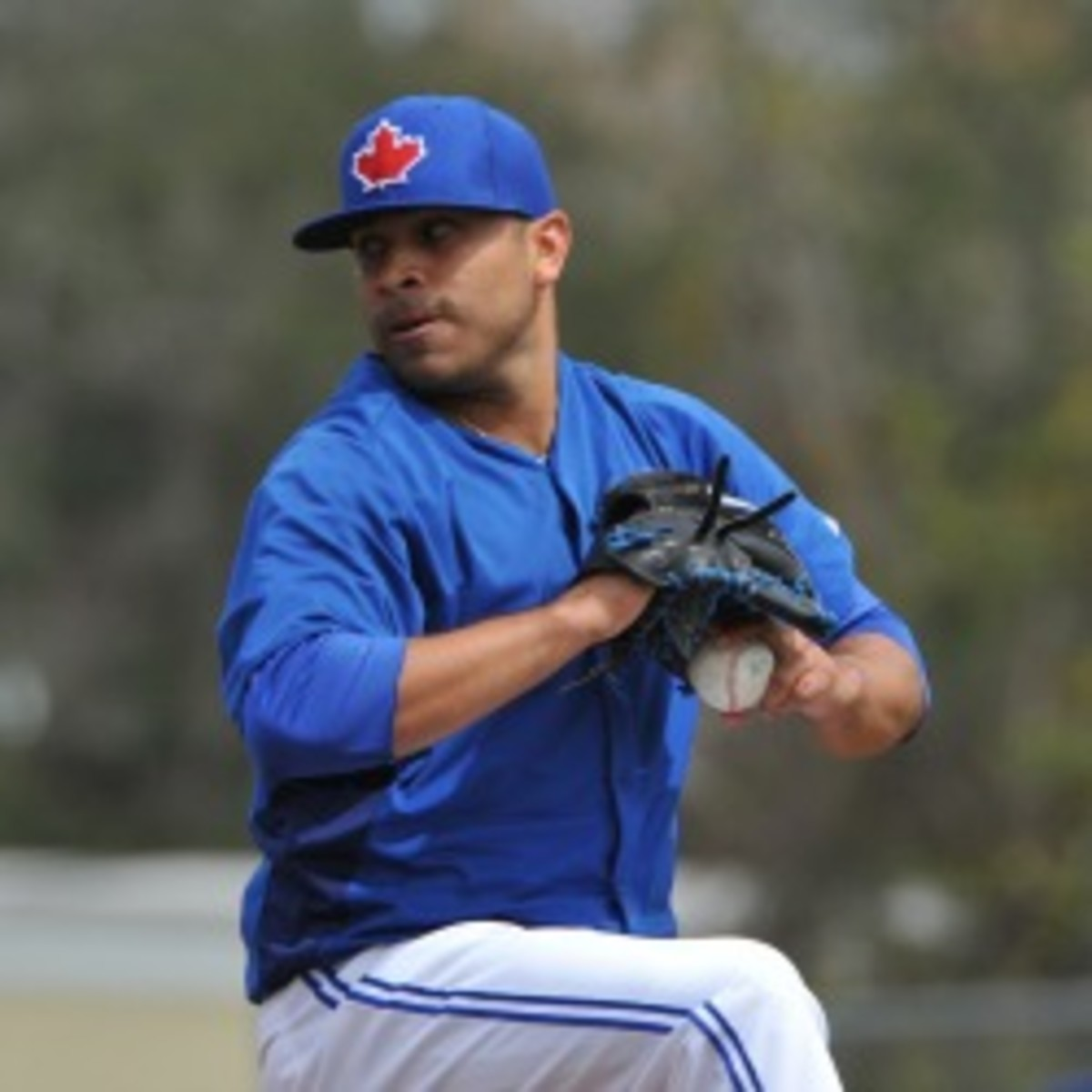The Blue Jays sent struggling pitcher Ricky Romero to the minors to work out issues. (Al Messerschmidt/Getty Images)