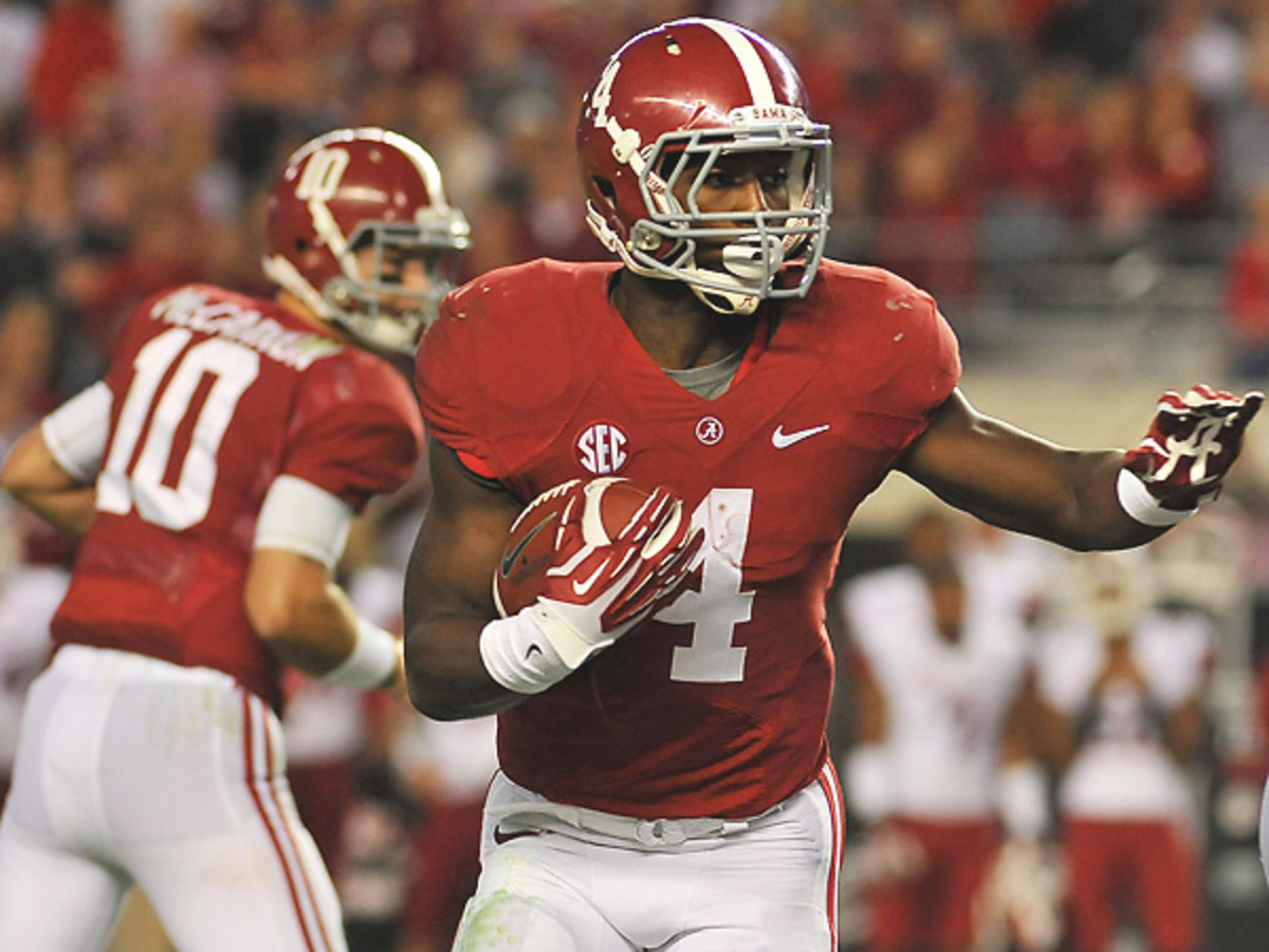 If Alabama wants to complete a perfect season, T.J. Yeldon will be an important factor. (Ryan A. Miller/Icon SMI)