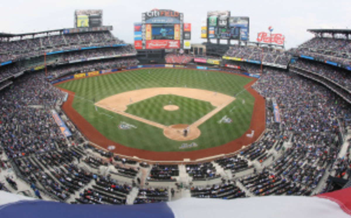 A 42 year old Connecticut man was arrested on Wednesday after making threats to Citi Field and players, coaches and executives with the New York Mets. (Al Pereira/Getty Images)