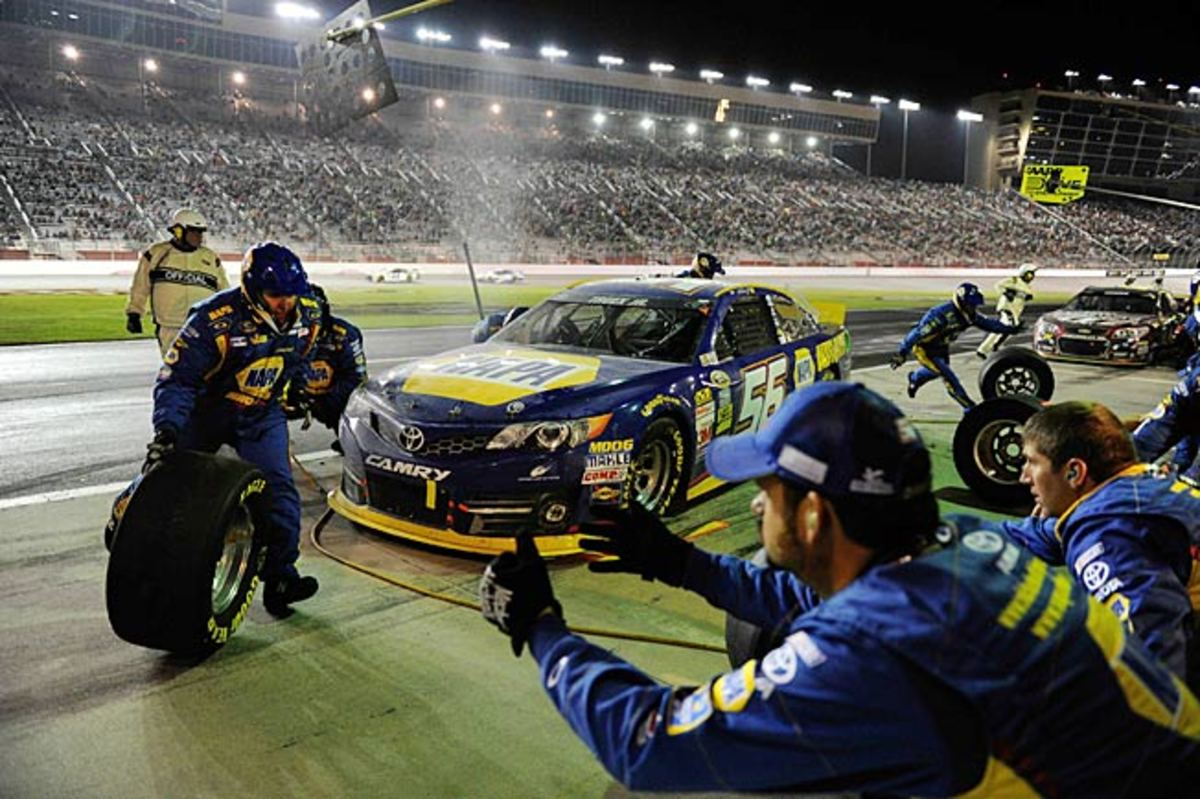 Martin Truex Jr., with a win and 13th in points, is in wheel good shape headed into Richmond.
