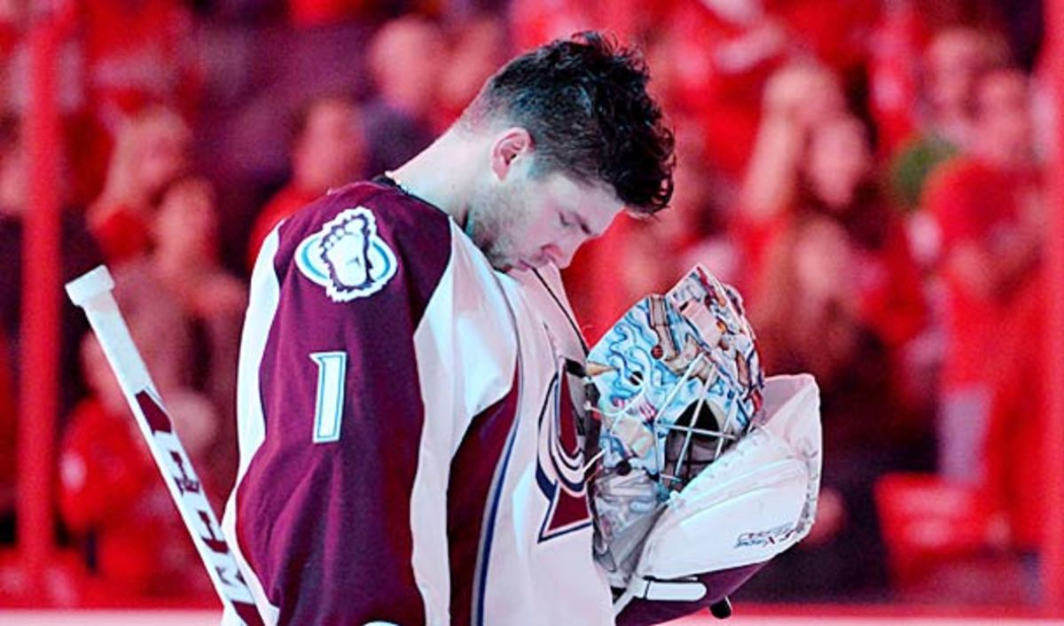 Semyon Varlamov of the Colorado Avalanche was arrested on domestic violence charges.