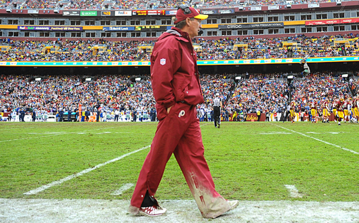 Mike Shanahan will not return to the Washington sidelines after the conclusion of this season.