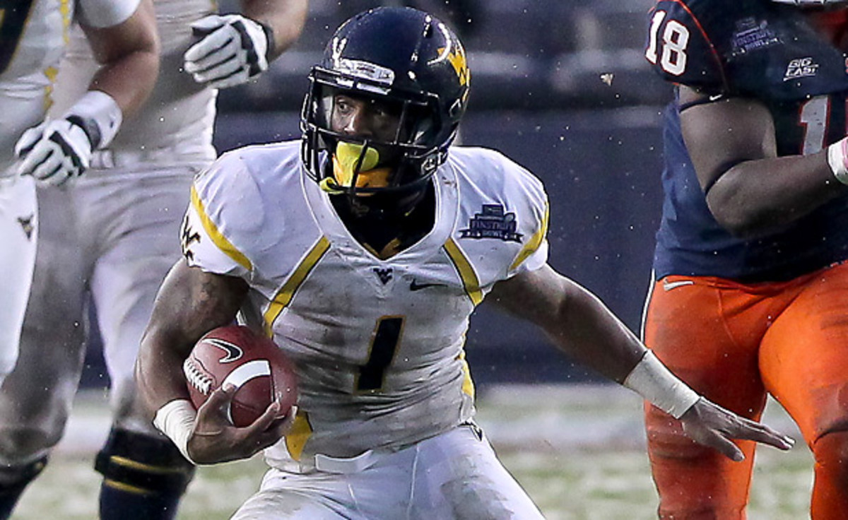 Elite playmaker Tavon Austin could be a hot commodity early in the first round. (Rich Graessle/Icon SMI)