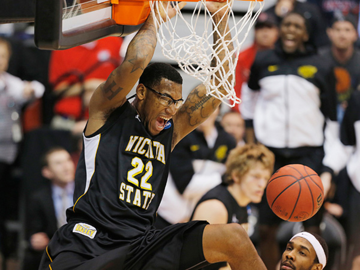 The Shockers were able to outplay one of the nation's stingiest defenses to advance. (Jaime Green/Wichita Eagle/MCT via Getty Images)