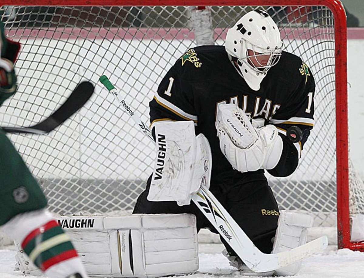 Jack Campbell has been recalled by the Dallas Stars.