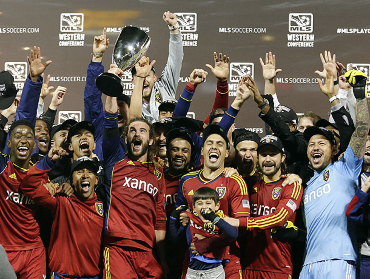 By dispatching Portland, Real Salt Lake earned a date with Sporting Kansas City in the MLS Cup final. (Ted S. Warren/AP)