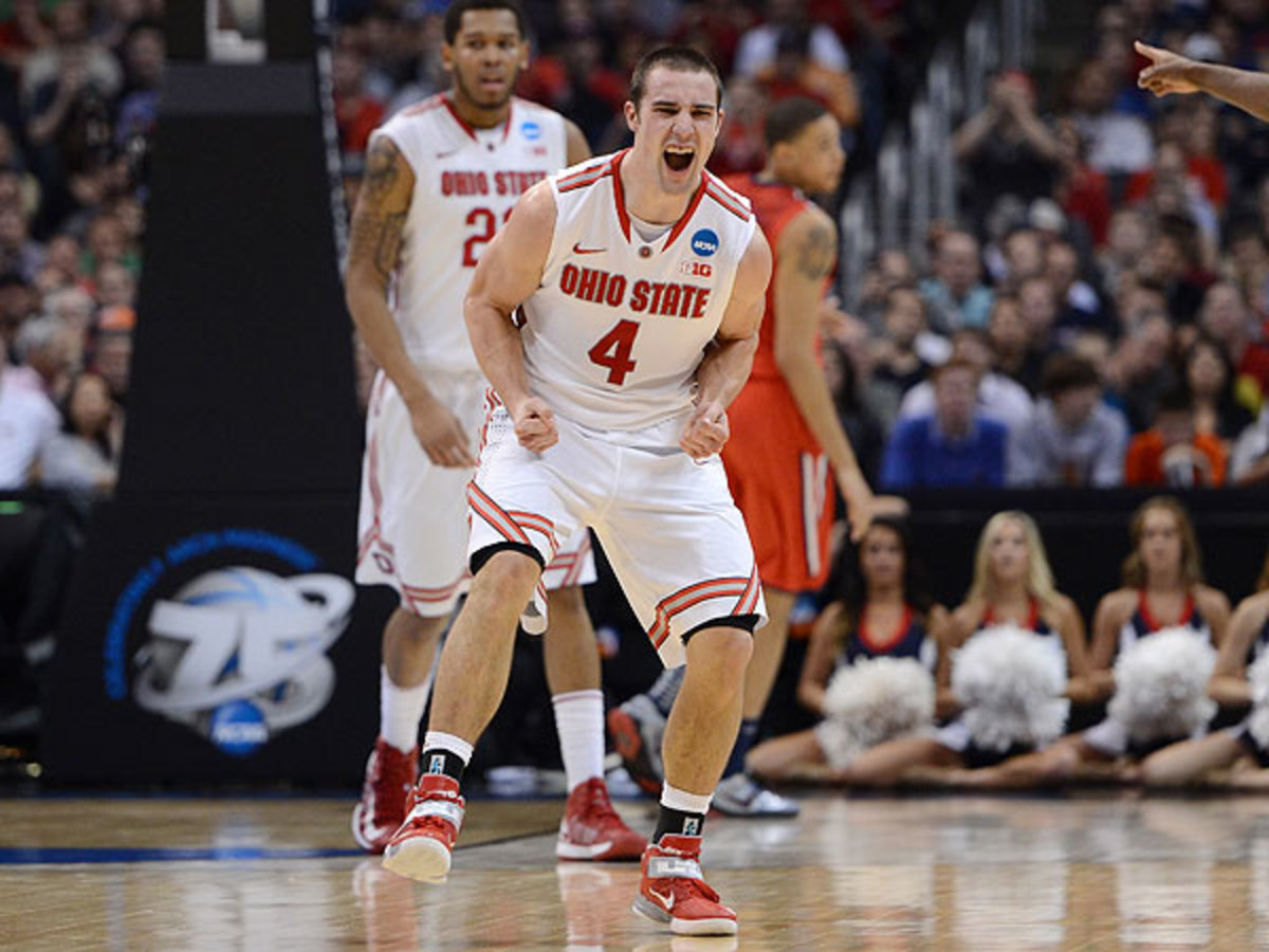 After a sluggish start, Aaron Craft and the Buckeyes rallied in the second half to top Arizona. (Harry How/Getty Images)