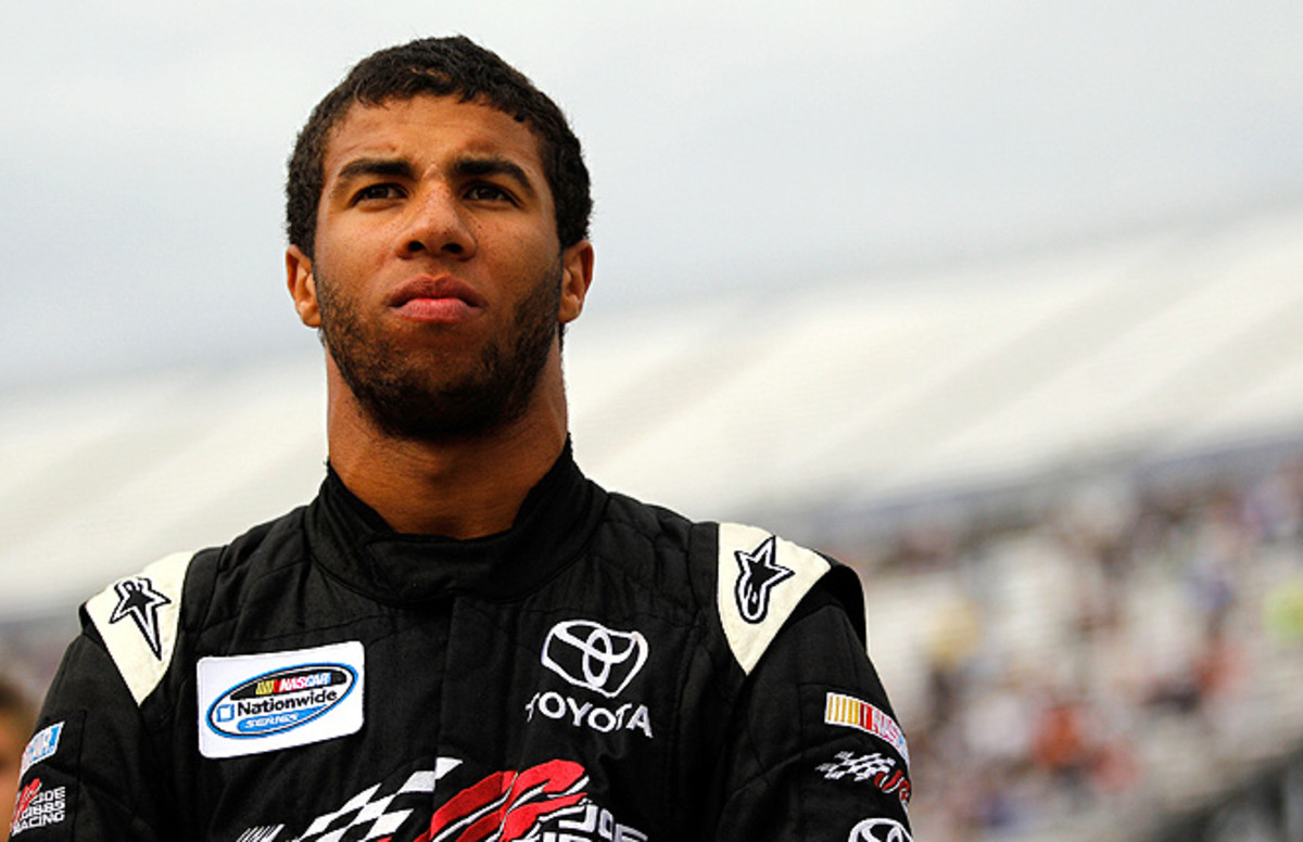Darrell Wallace Jr. is signed with Joe Gibbs Racing, and will drive the No. 54 for Kyle Busch Motorsports on Friday.