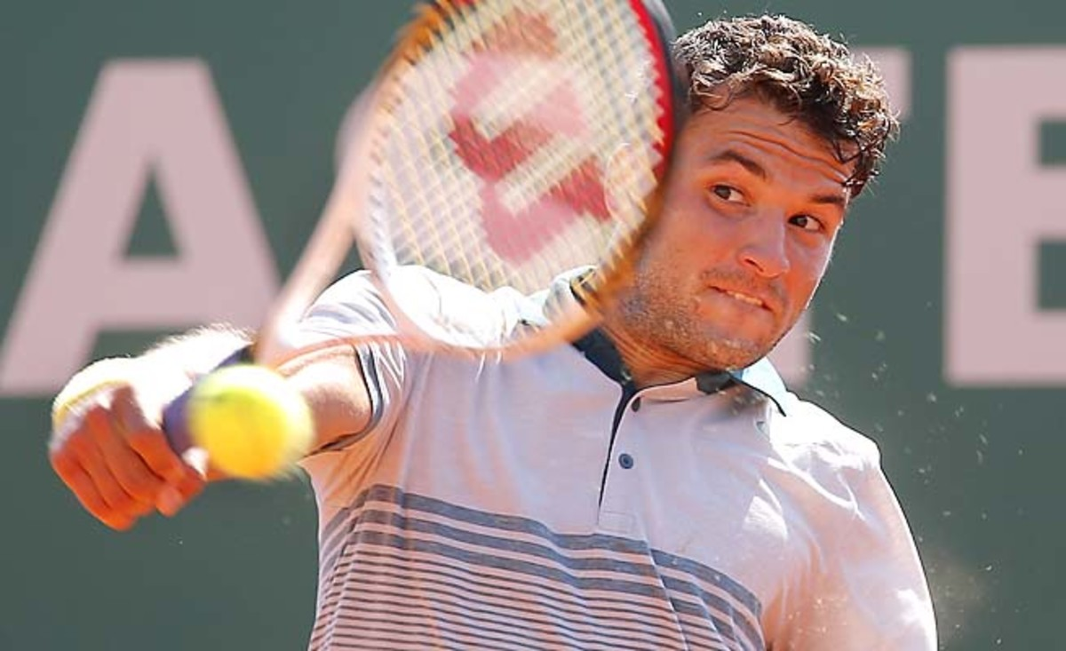 Grigor Dimitrov has risen from 48th in the year-end rankings to No. 34.