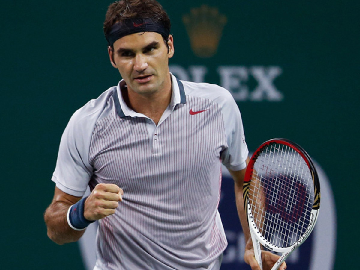 Roger Federer is in the running for the last qualification spots for the ATP Championships. (Lintao Zhang/Getty Images)