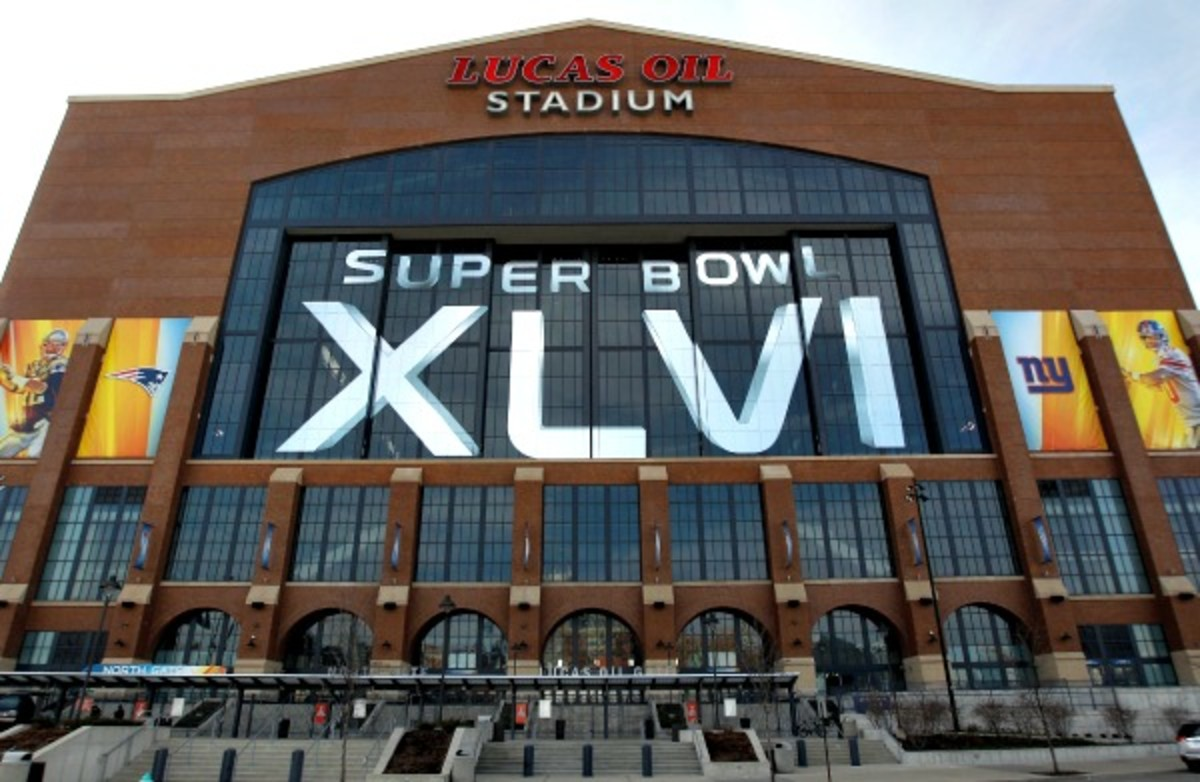 Indianapolis hopes to host the 2018 in Lucas Oil Stadium. (Chris Graythen/Getty Images)