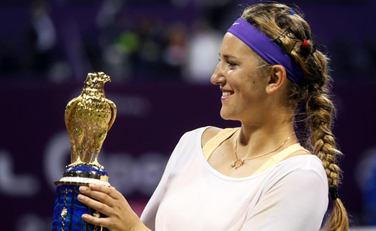 Victoria Azarenka had lost her last nine meetings to Serena Williams before prevailing on Sunday.