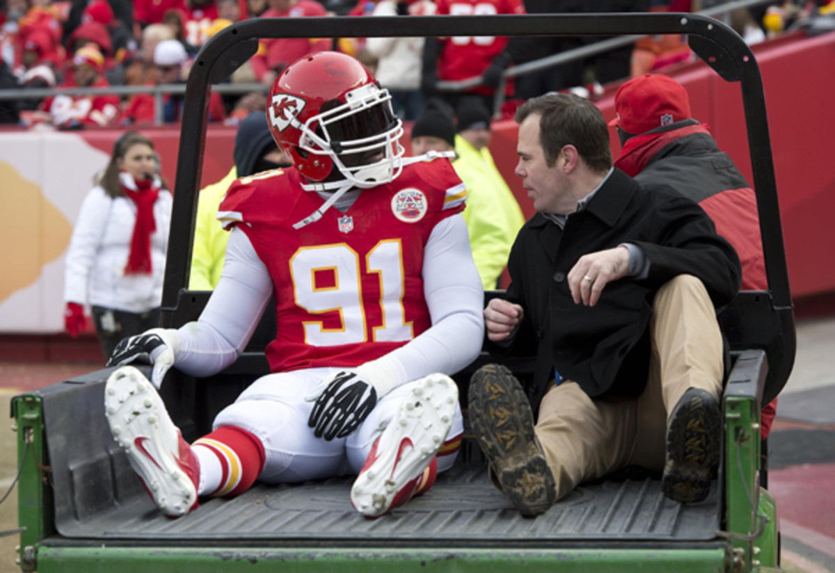 Tamba Hali might be back for the Broncos game. (MCT via Getty Images)