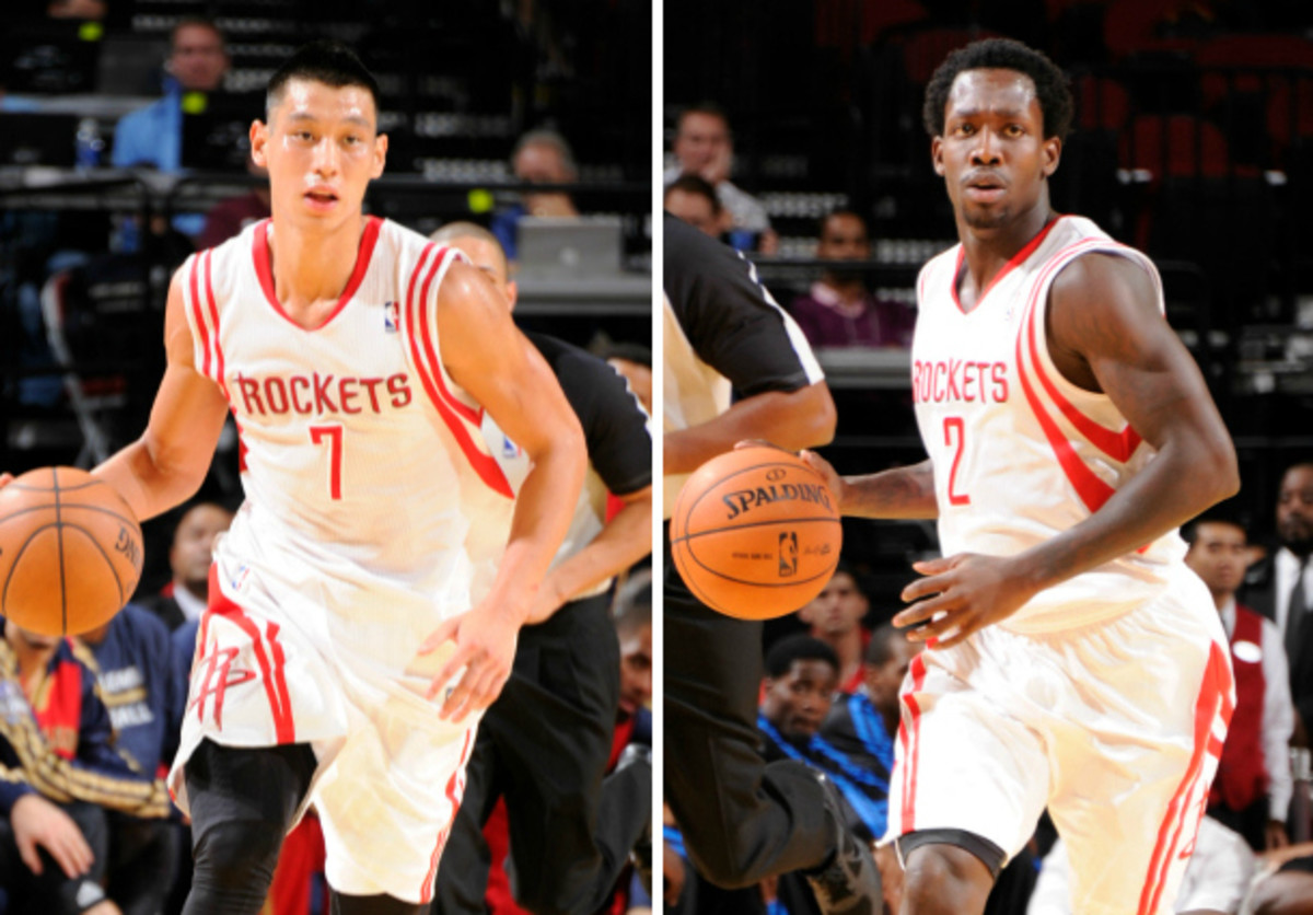 Jeremy Lin will move to the Rockets' bench in favor of Patrick Beverley. (Bill Baptist/NBAE via Getty Images)