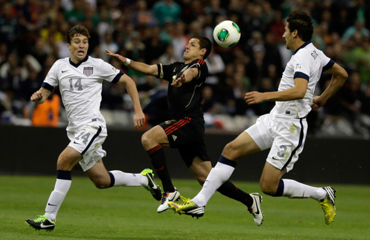 The United States earned a point in Estadio Azteca for only the second time in history Tuesday.
