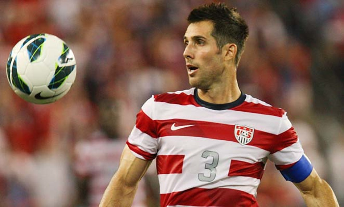 Carlos Bocanegra took over as the U.S. captain under Bob Bradley after the 2006 World Cup.