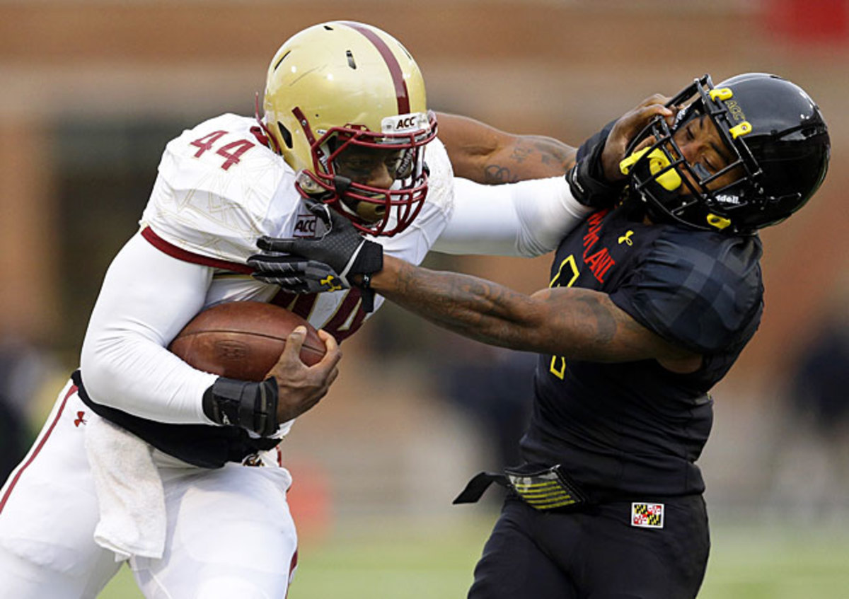 Boston College's Andre Williams has rushed for 2,073 yards and 16 TDs to vault into the Heisman race.
